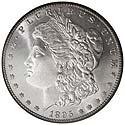 1895-O $1 MS67 PCGS