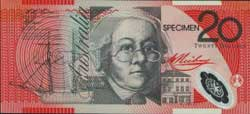 Australia Reserve Bank 20 Dollars ND (1994-1996) Pick 53s McDS32